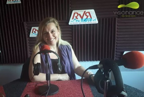 Interview Mireille Mansuy - RVR Radio - présentation Visionance